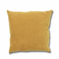 Perna decor Hazan 80, poliester + fibra poliester siliconizata, maro, 50 x 50 cm