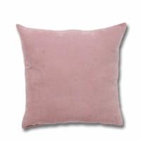 Perna decor Hazan 102, poliester + fibra poliester siliconizata, roz, 50 x 50 cm