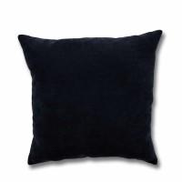Perna decor Hazan 51, poliester + fibra poliester siliconizata, negru, 50 x 50 cm