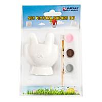 Suport ou de Pasti, Arhi Design, ceramica, tempera + pensula, set pictura
