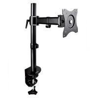 Suport monitor, pe birou, Meliconi DESK100R, reglabil, 33 - 69 cm, 8 kg, negru