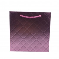 Punga cadou KDLWP M, din carton, mov, 28 x 28 x 10 cm