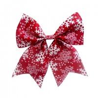 Decoratiune Craciun, tip funda, rosu + alb, 23 x 28 cm, SYHDJ-3419125B