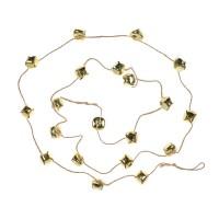 Decoratiune Craciun, cu clopotei aurii, SYTLD-231930