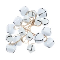 Decoratiune Craciun, cu clopotei albi, SYTLD-231931