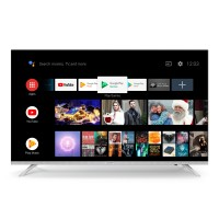 Televizor LED Smart Allview 40ATA6000-F, diagonala 101 cm, Full HD, sistem operare Android 8.0, negru + argintiu
