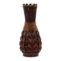 Vaza decorativa bambus, 09-18053, maro, 38 cm