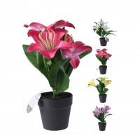 Floare artificiala, in ghiveci, Koopman 317003010, H 20 cm