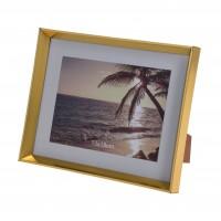 Rama foto Koopman 837500040, plastic, 13 x 18 cm, aurie