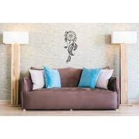 Sticker decorativ perete, dormitor, Dreamcatcher, PT3115 TR, 50 x 70 cm