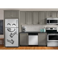 Sticker decorativ frigider, Yummy, PT3005 TR, 50 x 70 cm