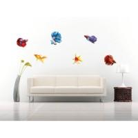 Sticker decorativ perete, camera copii, Pesti 2, PT3118 TR, 50 x 70 cm
