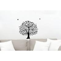 Sticker decorativ perete, living, Arborele vietii, PT3100 TR, 50 x 70 cm
