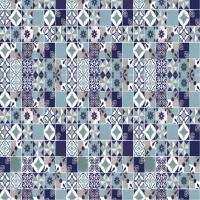 Autocolant faianta / mozaic Adreta Bonita 20356-3A5/03, albastru, 0.45 m