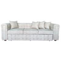 Canapea fixa 3 locuri Carol, bej, 90 x 245 x 77 cm, 3C