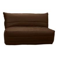 Husa pentru canapea extensibila cu 2 locuri BZ, poliester maro