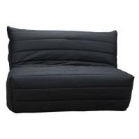 Husa pentru canapea extensibila cu 2 locuri BZ, poliester negru