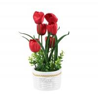 Aranjament flori artificiale YF765, 38 cm