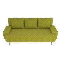 Canapea extensibila 3 locuri Karla, cu lada, verde, 205 x 84 x 78 cm, 2C