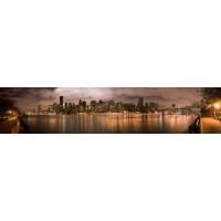 Panou decorativ bucatarie Splashback, compozit, luminescent, SPB 002, 60 x 200 cm