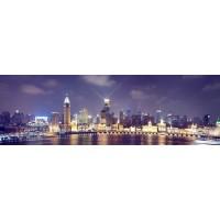 Panou decorativ bucatarie Splashback, compozit, luminescent, SPB 018, urban, 2600 x 600 x 3 mm