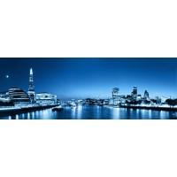 Panou decorativ bucatarie Splashback, compozit, luminescent, SPB 024, urban, 2600 x 600 x 3 mm
