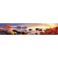 Panou decorativ bucatarie Splashback, compozit, luminescent, SPB 030, 60 x 200 cm