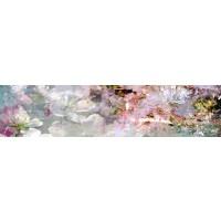 Panou decorativ bucatarie Splashback, compozit, luminescent, SPB 031, floral, 4000 x 750 x 3 mm