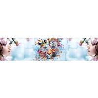Panou decorativ bucatarie Splashback, compozit, luminescent, SPB 032, abstract, 2600 x 750 x 3 mm