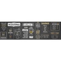 Panou decorativ bucatarie Splashback, compozit, luminescent, SPB 033, bar, 2600 x 750 x 3 mm