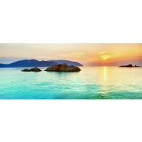Panou decorativ bucatarie Splashback, compozit, luminescent, SPB 039, peisaj, 2600 x 600 x 3 mm