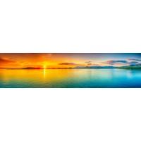 Panou decorativ bucatarie Splashback, compozit, luminescent, SPB 046, peisaj, 2600 x 750 x 3 mm