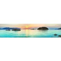 Panou decorativ bucatarie Splashback, compozit, luminescent, SPB 049, peisaj, 2000 x 750 x 3 mm