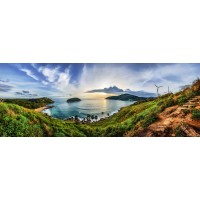 Panou decorativ bucatarie Splashback, compozit, luminescent, SPB 054, peisaj, 2600 x 600 x 3 mm