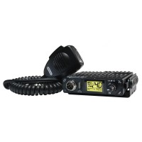 Statie radio auto CB President Bill TXPR001, 4 W, 13.2 V, scanare canale, squelch automat digital, blocare tastatura, filtru zgomot Noise Blanker, Automatic Noise Limiter, Roger Beep, Time out Timer