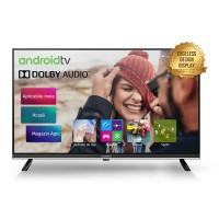 Televizor LED Smart Allview 32ATS5500-H, diagonala 81 cm, HD, sistem operare Android 8.0, negru