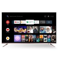 Televizor LED Smart Allview 50ATA6000-U, diagonala 127 cm, Ultra HD / 4K, sistem operare Android 8.0, argintiu