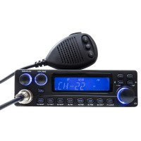 Statie radio auto CB Tti TCB-5289, 4 W, 13.2 V, ASQ, Dual Watch, functie Echo, buton canale urgenta, Roger Beep, Time out Timer