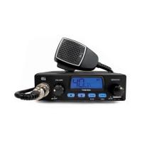 Statie radio auto CB Tti TCB-555, 4 W, 12 V, ASQ reglabil, scanare canale, blocare tastatura, mufa USB pentru incarcare dispozitive mobile