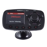 Bluetooth auto Albrecht DR 57, receptor radio digital DAB / DAB+, functie car kit, ecran TFT, Aux in, transmitator FM, microfon incorporat