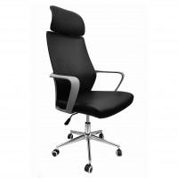 Scaun birou directorial ZA-CHR9508, rotativ, PU, negru