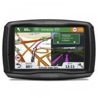 Sistem de navigatie GPS Garmin Zumo 595LM, cod C1360, diagonala 5 inch, touchscreen, Bluetooth, functie Garmin Adventurous Routing, indicator limita viteza, harta Europa 22 tari, update gratuit al hartilor pe viata