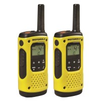 Statie radio emisie / receptie PMR portabila Motorola TLKR T92 H2O, set 2 bucati, functie Vox, blocare tastatura, squelch automat, Roger Beep, scanare canale, Dual watch, apel de urgenta, Time Out Timer