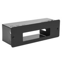 Carcasa montaj PNI 1 DIN pentru statiile radio CB Albrecht 6110, CRT One si Yosan Micro, neagra
