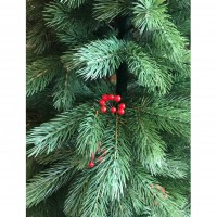 Brad artificial de Craciun, 3815, verde, cu pomusoare, 180 cm