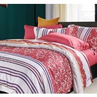 Lenjerie de pat GY0110 219, 2 persoane, 100 % bumbac satinat, 4 piese, multicolor