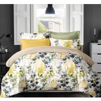 Lenjerie de pat YH-406-P 219, 2 persoane, 100 % poliester, 4 piese, multicolor
