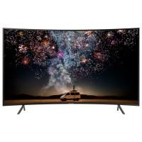 Televizor curbat LED Smart Samsung UE55RU7302KXXH, diagonala 138 cm, Ultra HD / 4K, negru