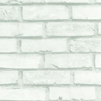 Autocolant pietre / caramizi Gekkofix 12207, alb, 0.45 x 15 m