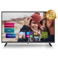 Televizor LED Smart Allview 43ATS5500-U, diagonala 109 cm, Ultra HD / 4K, negru